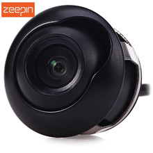 360 Degrees Adjustable Drilling CCD HD Car Reverse Backup Front/Side/Rear View Camera Night Vision Flush Mount Waterproof Camera