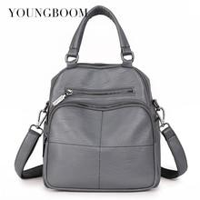 Youngboom рюкзак мешок школы для леди подростков Обувь для девочек Рюкзаки Для женщин Рюкзаки модная кожаная сумка 2017 Sac