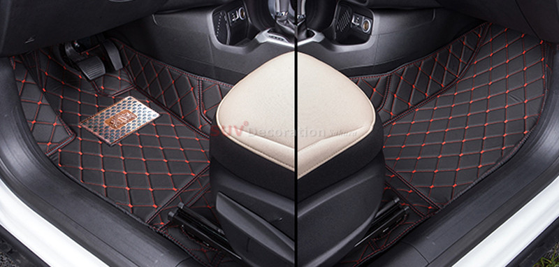For Jeep Grand Cherokee 2011 2012 2013 2014 2015 2016 2017 Accessories Interior Leather Carpets Cover Car Foot Mat Floor Pad for mazda cx 5 cx5 2012 2013 2014 2015 2016 accessories interior leather floor carpet inner car foot mat