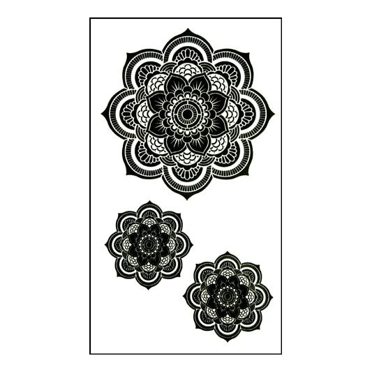 Waterproof Temporary Tattoo Sticker Lace Mandala Dreamcatcher Dream Awesome Dream Catcher Tattoo Prices