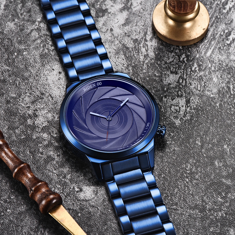 BIDEN BD0109 Photographer Series Creative Wrist Watch 7