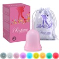 Anytime Menstruation Cup Health Care Women Menstrual Cup 100% Medical Silicone Menstrual Cup Feminine For Lady Coletor Menstrual