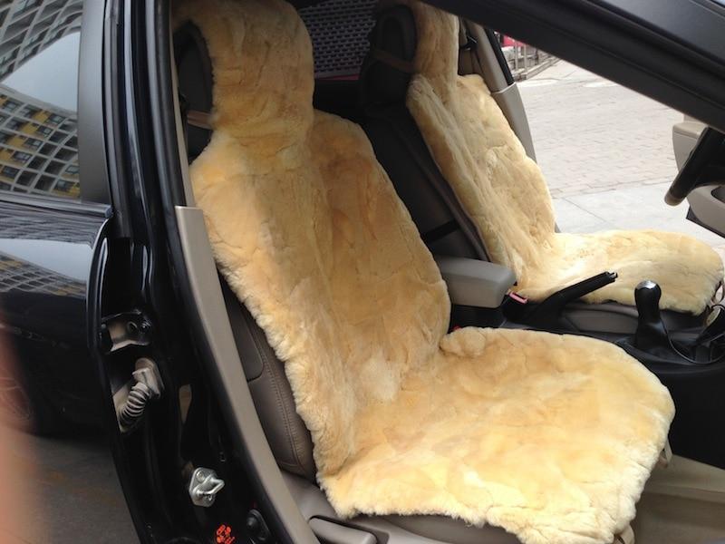 Auto pelle di pecora coprisedili acquista a poco prezzo for Motor sheep seat covers