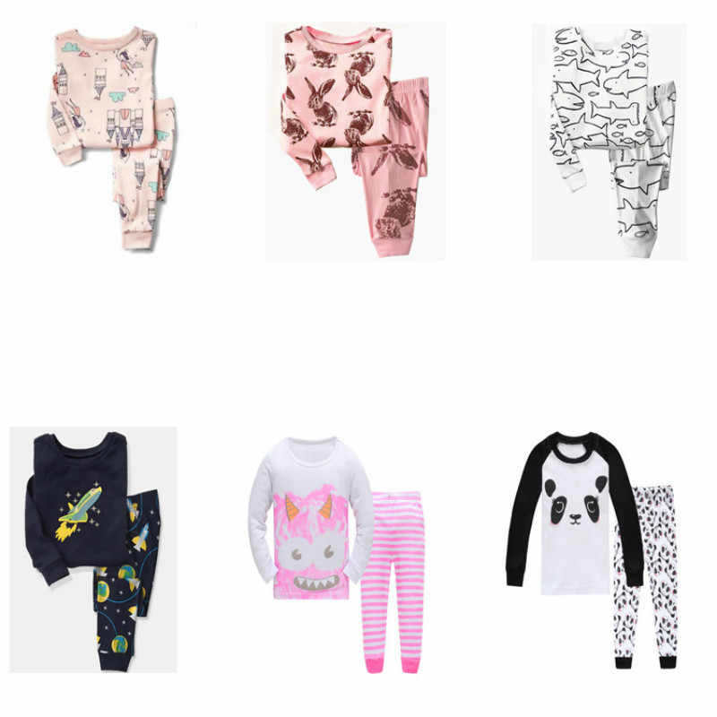 9bb35d4dc Detail Feedback Questions about Kids Pajamas Sets 2019 Spring Winter ...