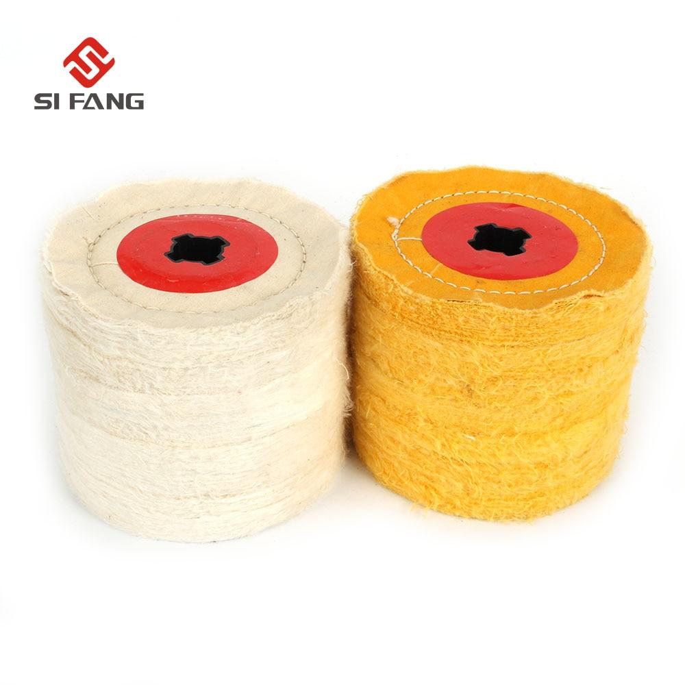 Cross Core Cotton Cloth Wheel Polishing Wheel For Drawing Polishing Burnishing Machine/Polisher/Sander