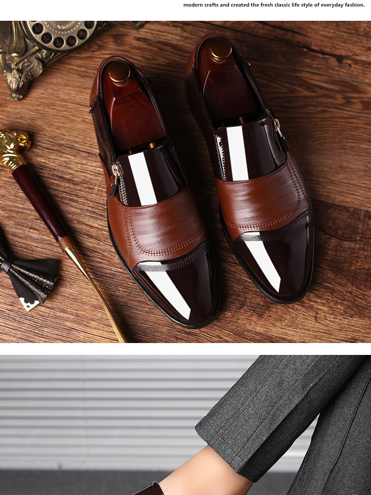 Luxury Business Oxford Leather Shoes 22