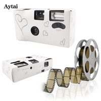 Aytai 1pc Wedding Centerpieces Heart Disposable Cameras Wedding Favors And Gifts For Guests Party Favors For
