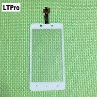 LTPro 100% Probados de Trabajo libre del Nuevo Sensor Panel Táctil de Cristal Digitalizador de Pantalla Para Malata i8 i8 Blanco piezas de Repuesto de Teléfono Móvil