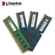 Kingston – RAM DDR3 originale pour ordinateur de bureau, 2/4/8 go, 1R/2Rx8, PC3, PC3L, 10600U, 12800U, 2/4/8 go, 1333/1600/10600/12800 MHz