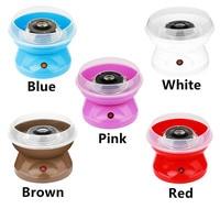 Portable EU Plug Cotton Candy Maker Machine Electric DIY Sweet Mini Portable Cotton Suager For Children