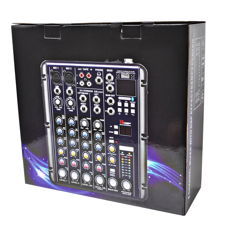 SMR6  21  Audio Mixer