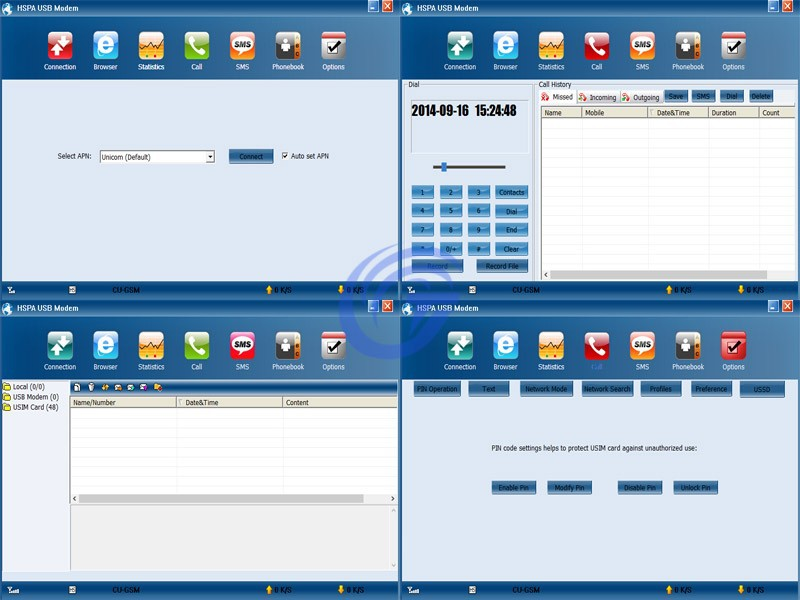 HSPA software