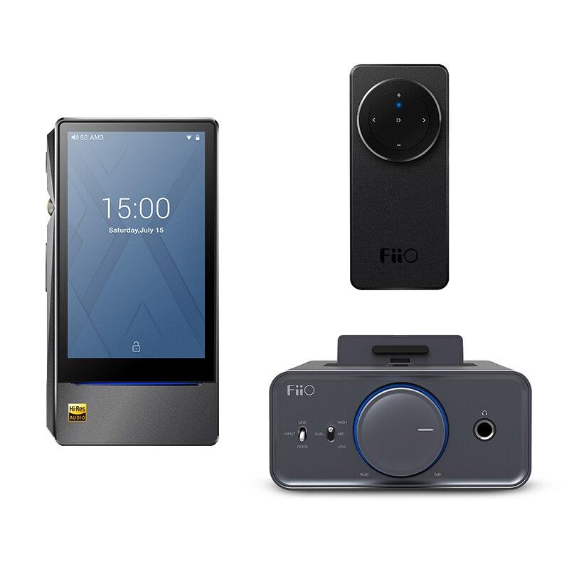 Bundle Venta de fiio basado en Android reproductor de música X7 II con equilibrio am3a con Amplificadores de auriculares K5