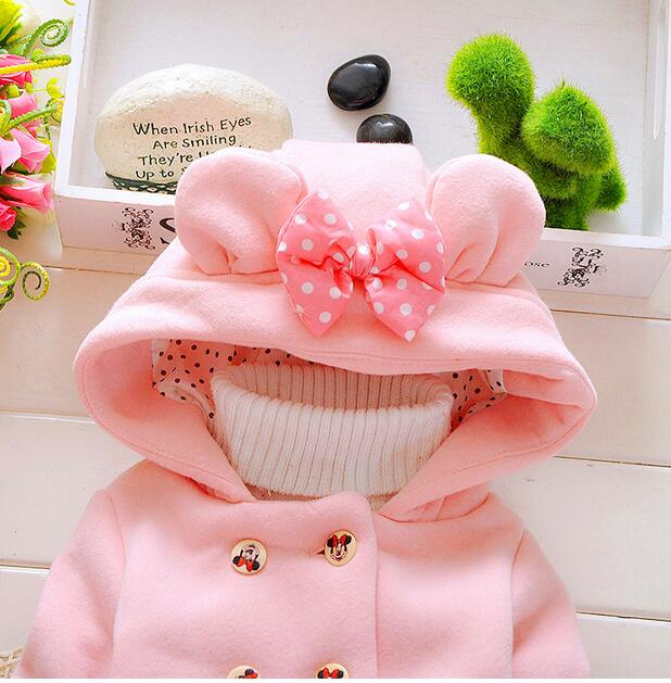 2016-new-spring-and-autumn-baby-girl-cotton-coat-thick-double-breasted-bow-hooded-jacket-children-0-2-years-brand-free-shipping-4