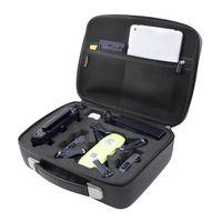 Fusitu Carrying Case Waterproof Portable EVA Carry Hard Case Suitcase Travel Storage Handbag For DJI Spark