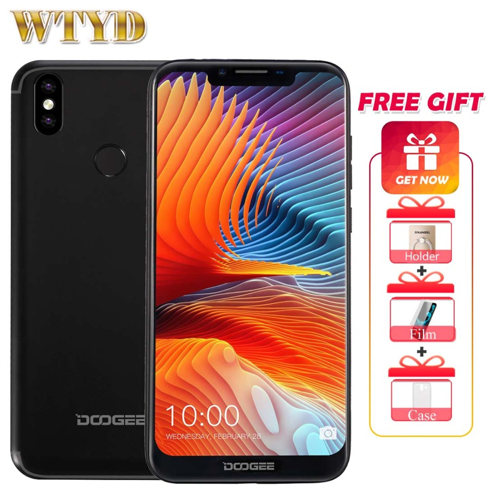 Doogee BL5500 Lite 6 19 19 9 Android 8 1 4G Mobile Phone 13 0MP 8