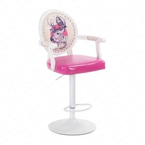 1b europeu tamborete de barra cadeira giratória moderna e minimalista cadeira de mesa alta banco caixa registradora banco de volta para casa|Cadeiras p/ bar| |  -