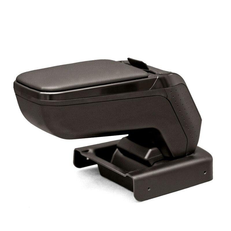 Armrest ARMSTER 2 BLACK for HONDA JAZZ 2008-2015 armrest armster 2 silver for honda jazz 2016