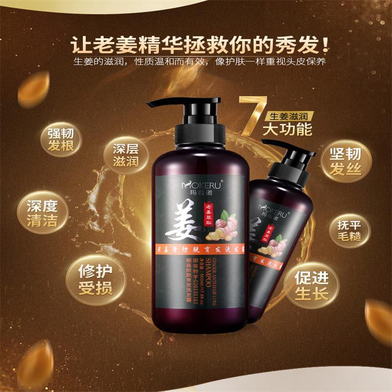 1pcs 500ml Professional Anti Hair Loss Products Herbal Natural Dandruff Shampoo For Hair Dry Treatment Shampoo