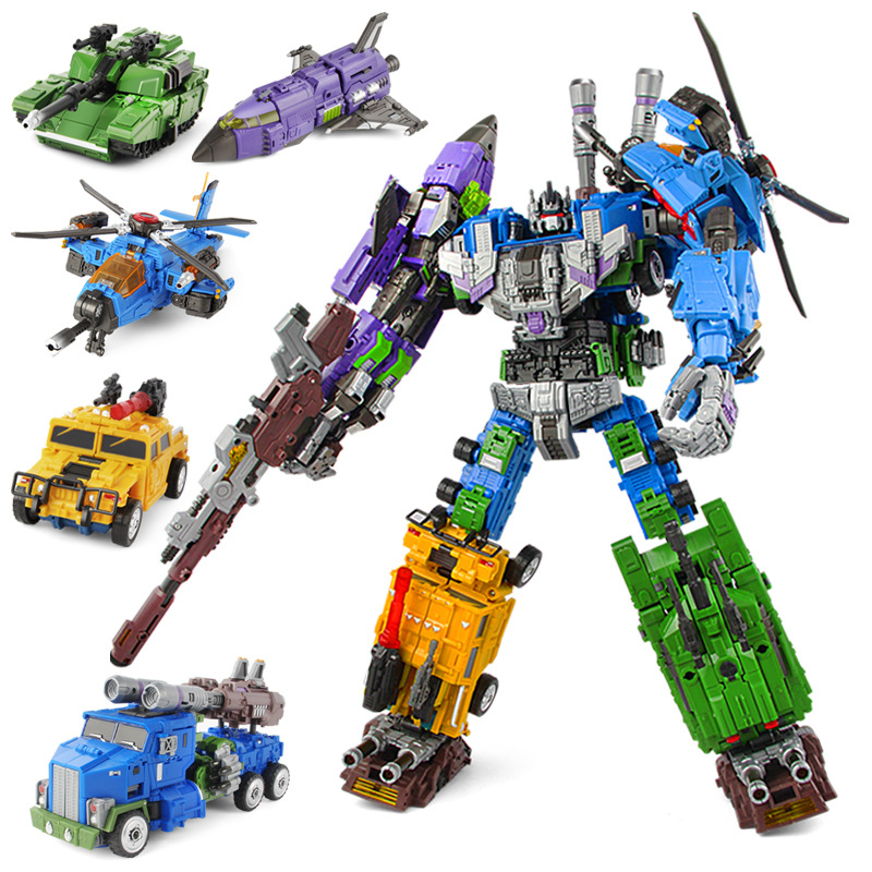 Transformation WK Style MBD Bruticus Members ONSLAUGHT Blastoff Vortex Brawl Swindle 5IN1 TF Figure Robot Collection Boy Toys оснастка донная dixxon лиман 2 кормушка 15 г 2 крючка 8 тест 3 кг