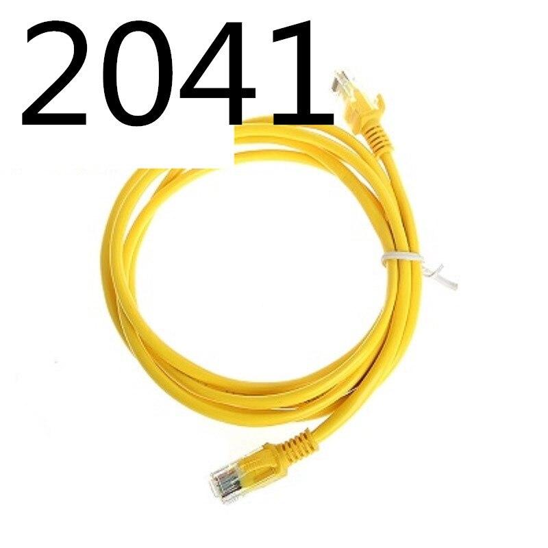 2041 XIWANG vend chaud CAT7 UTP câble rond câbles Ethernet fil réseau RJ45 cordon de raccordement Lan câble fabriqué en chine