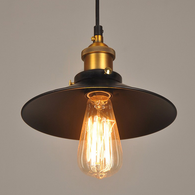 antique pendant lights. Loft American Vintage Pendant Lights Copper Lamp Holder E27 110/220V Antique For L