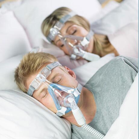 Amara Plein Visage Masque Bouche Nasale Masque Complet Appareil Respiratoire Pour L'apnée Du Sommeil Anti Ronflement