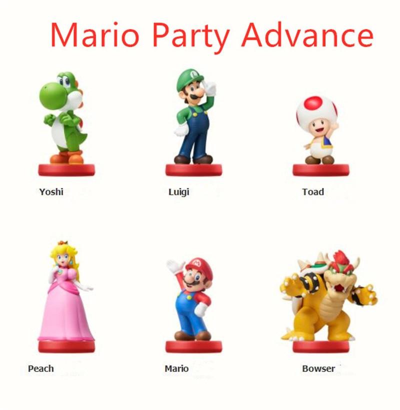 for Amiibo Data Super Smash Bros Mario Party Advance For Amiibo Bin Data 126 Or Choose Ntag215 N Tag215 25mm Nfc Coin Tag 50pcs