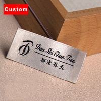 High Quality Custom Clothing Labels Brand Crochet Machine White Woven Labels Personalized Custom Logo Labels For