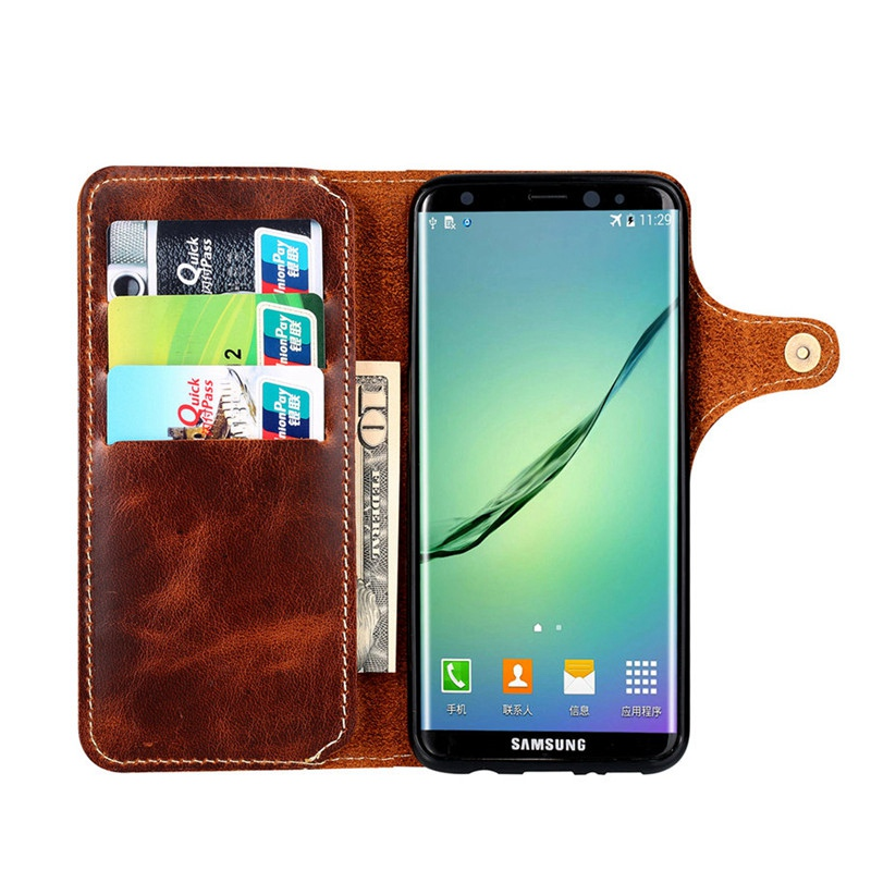 Genuine Leather Samsung Case