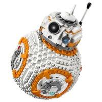 1238Pcs Star BB8 Robot Set Genuine With Star Series 75187 Set Building Blocks Bricks Toys As Christmas Gifts