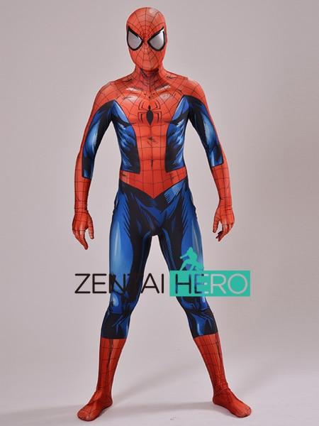 Здесь продается  ZentaiHero 3D Shade Ultimate Spiderman Costume Spandex Cosplay Spider-man Superhero Costume 2017 Halloween Fullbody Zentai Suit  Одежда и аксессуары