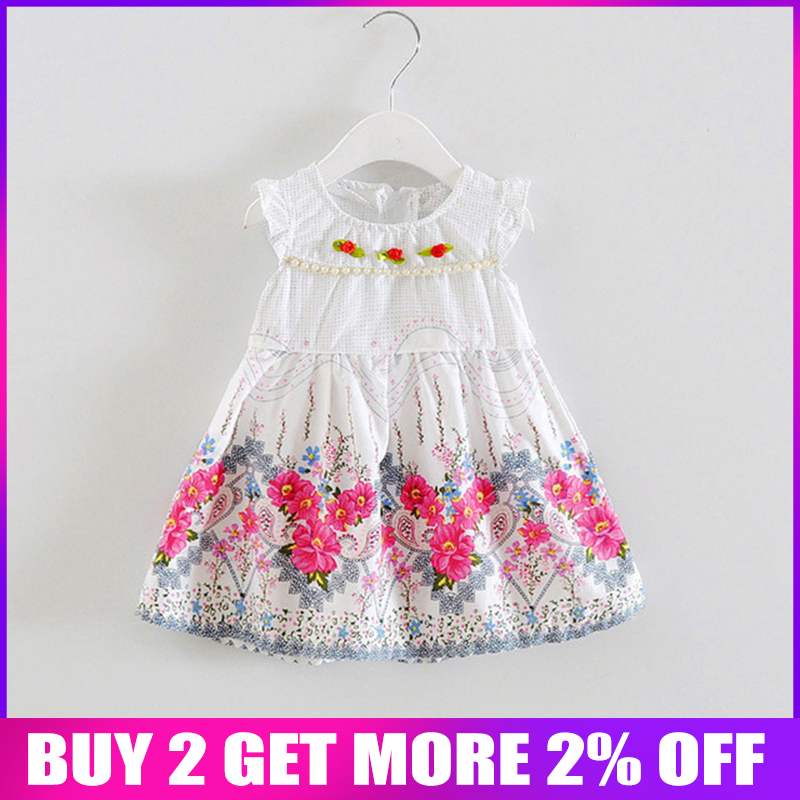 5a557d8abdb13 BibiCola baby girls summer dress kids toddler new fashion cotton tutu  dresses baby birthday party dress infant girls clothing
