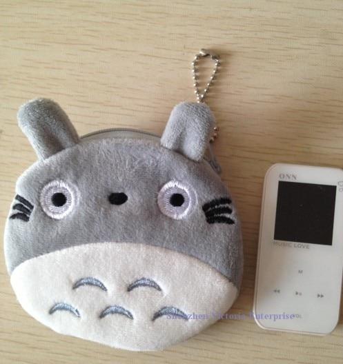 10PCS NEW JAPAN TOTORO Cat Plush Coin Purses u0026 Wallet Pouch Case BAG  Pendant Bags Beauty