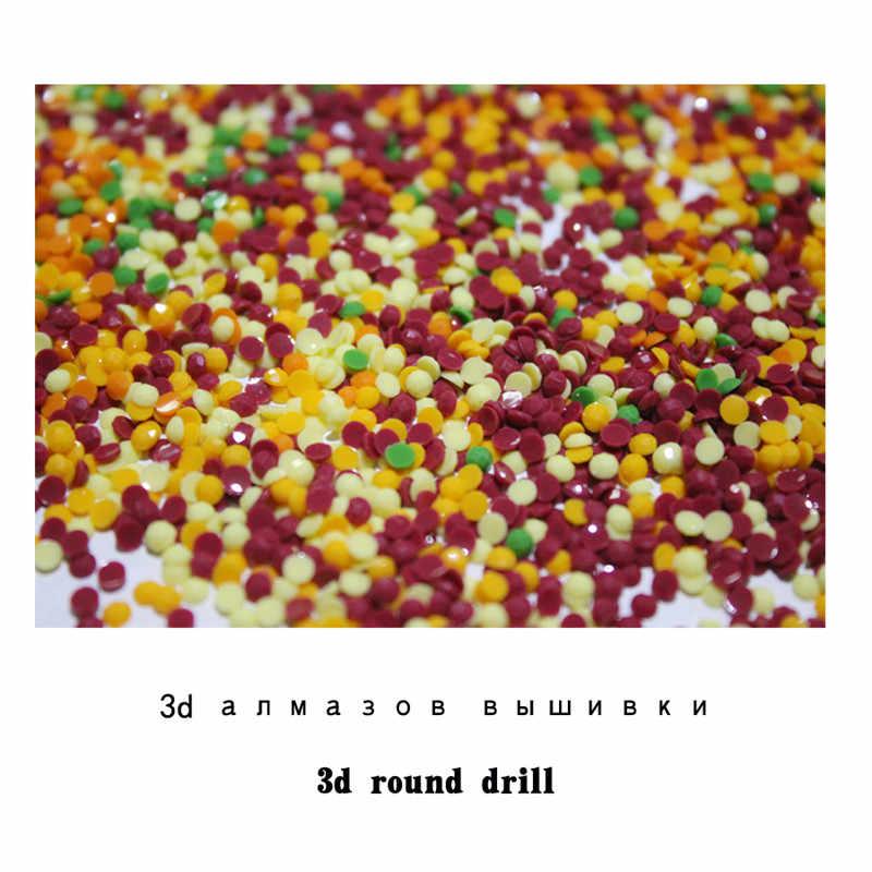 Pieno 5D Fai Da Te Daimond Pittura Cherry Blossom paesaggio naturale 3D Pittura piazza Del Diamante Strass Diamant Pittura Del Ricamo