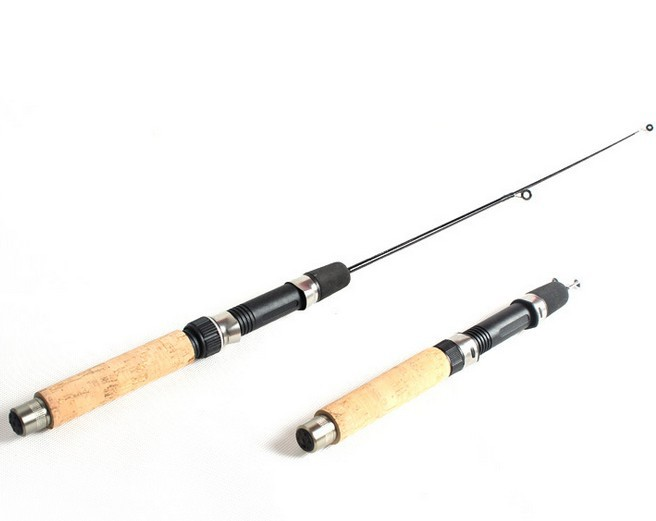 short winter ice fishing rod mini 2014 Carbon 50cm short fishing rod