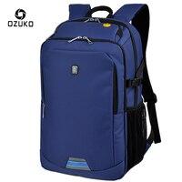 2018 ozuko محمول حقيبة رجل الأعمال حقائب المدرسة mochila الأزياء كلية عارضة السفر قدرة كبيرة كيس ماء النسيج