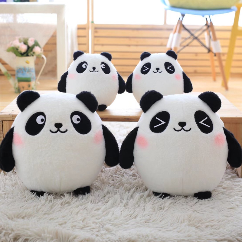 18cm Plush Sweet Cute Lovely Kawaii Stuffed Baby Kids Toys for Girls Children Birthday Christmas Gift Lucky Cat Panda Doll little cute flocking doll toys kawaii mini cats decoration toys for girls little exquisite dolls best christmas gifts for girls
