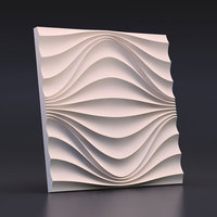 3D Decorative concrete brick Wall silicone molds custom design cement wall molds gypsum brick molds 28*1.7cm