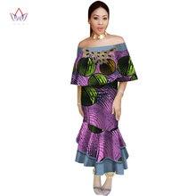 african dress for women Fashion Design dashiki women bazin riche long  cotton dress dashiki traditional plus size natural WY2622 d22dd54912ec