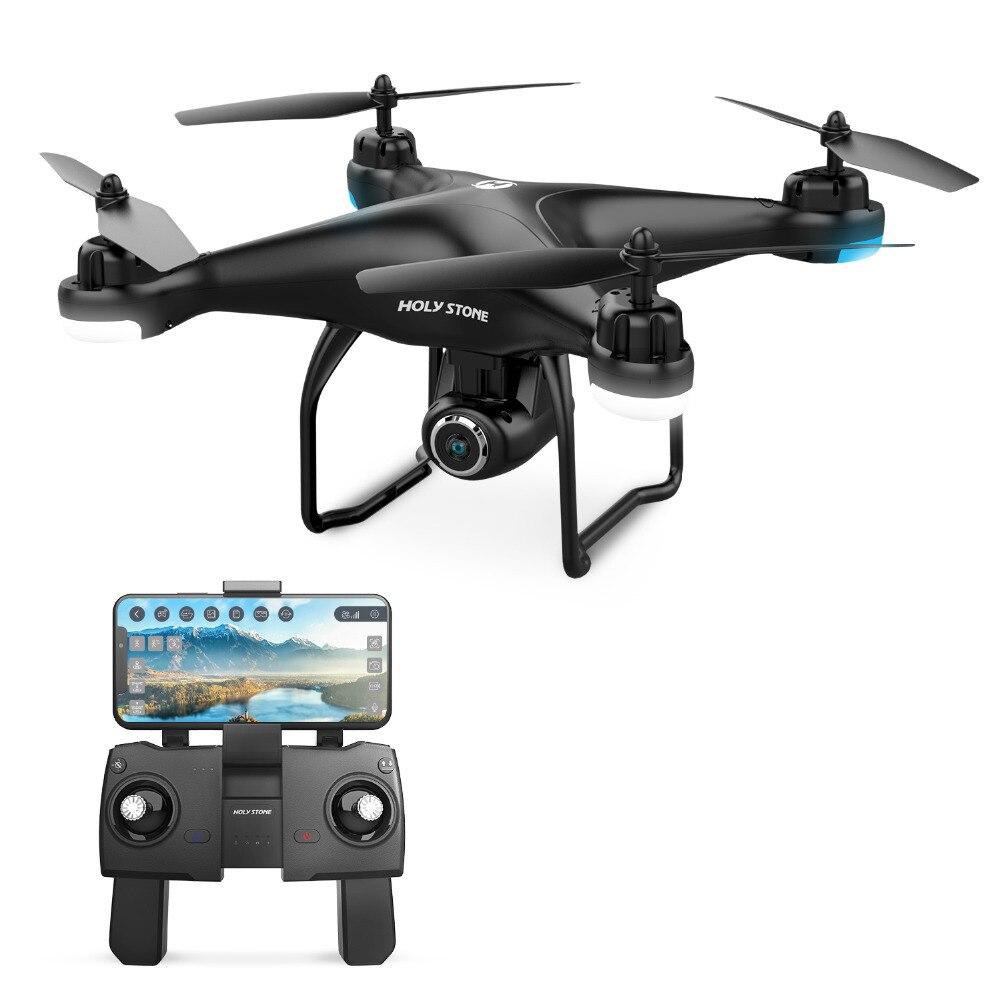 UE e EUA Estoque Pedra Sagrada HS120D GPS Zangão com Câmera FPV HD 1080 p Gravação de Voz Tapfly de Longo Alcance com siga-me RC Quadcopter