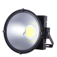 High power Floodlight 200W 300W 400W 500W  AC 110V 220V waterproof LED spotlight outdoor construction engineering lighthouse|Floodlights| |  -