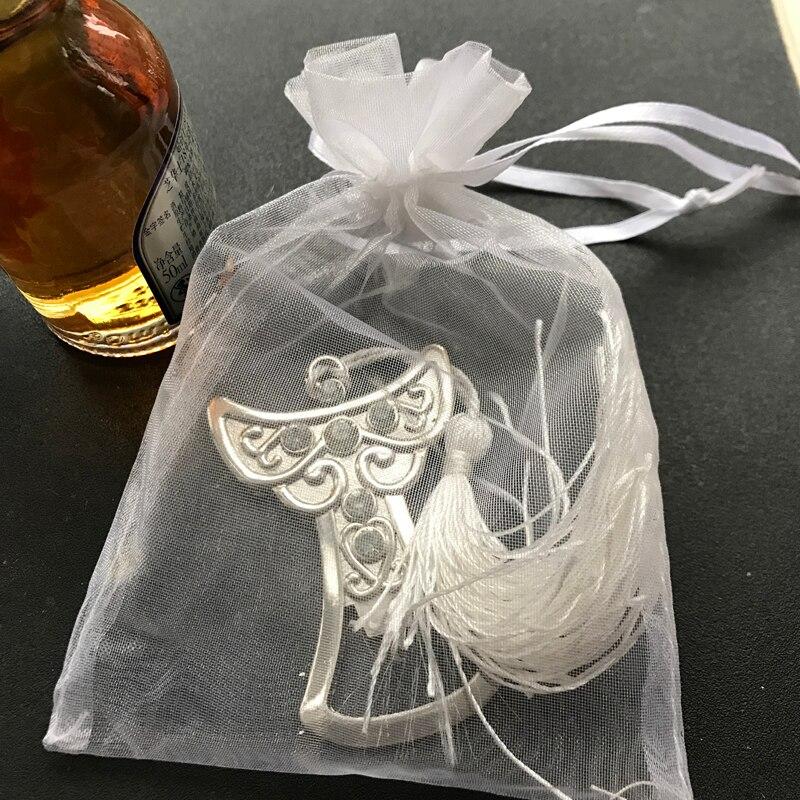 80 stks/partij bruids douche gunst angel flesopener kruis bier opener bruiloft gunst feestartikelen doop gunsten gast-in Feest bedankjes van Huis & Tuin op  Groep 3