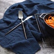 45x65cm pileli dokulu keten pamuklu bez gıda fırında ekmek masa üstü çekim fotoğrafçılığı arka plan sahne aksesuarları