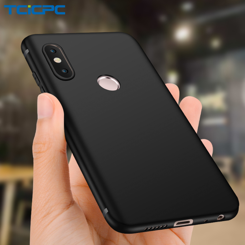 TCICPC For Xiaomi Redmi Note 5 Case Silicone Luxury Slim Matte TPU Soft Phone Bag Cases For Xiaomi Redmi Note 5 Pro Cover Coque
