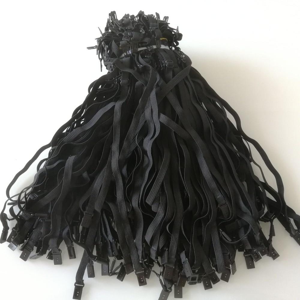 100PCS 2020 DIY 1cm Bow Tie Accessory For Adult Child Men Women Wedding Necktie Adjustment Rope Maximum Length 50cm Elastic Band