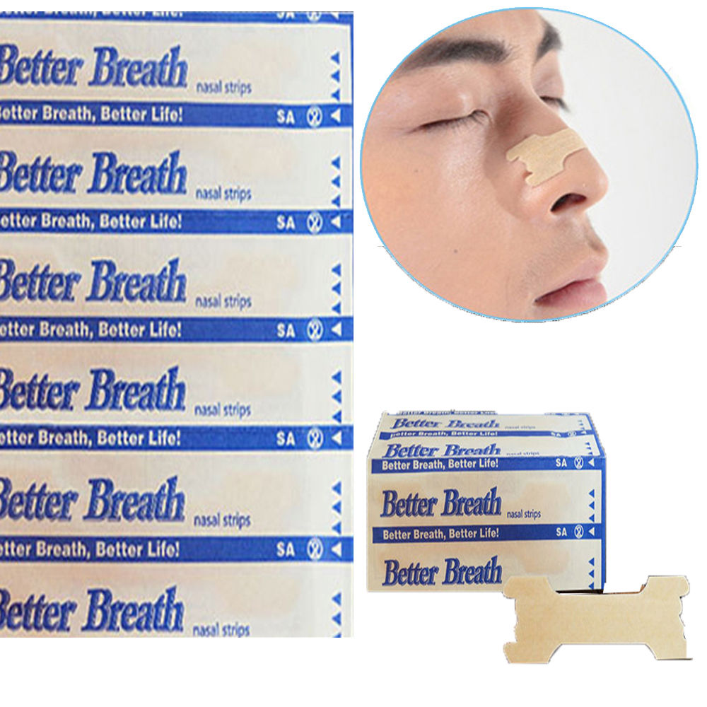 10Pcs Nasal Strips Anti Snoring Sleeping Are Better Than Breath Right