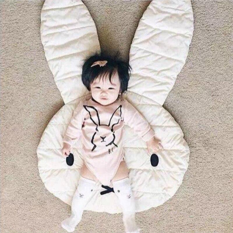 Baby Bedding Blanket Deken Rabbit Design Kids Sleepping Covers Blanket Carpet Floor Mats Children Play Rugs Mat speelkleed