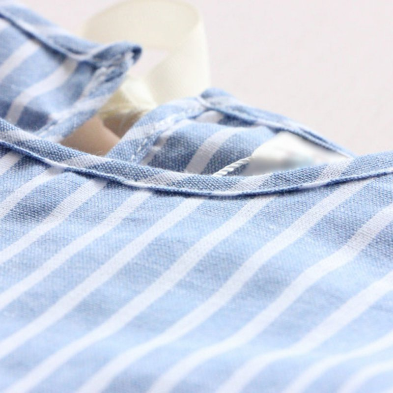 Newest-Kids-Girl-Princess-Dress-Summer-Striped-Short-Sleeve-Mini-Dresses-Infantil-Children-Vestidos-5
