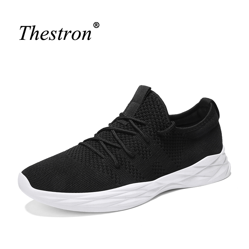 Mens Sneakers Sport Rubber Sole Running Shoes Anti-slip Walking Shoes Male Summer Sport Shoes Mans Sneakers 2018